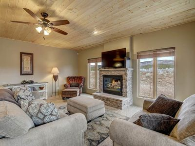 Photo for Updated Condo; Convenient Location; Gas Fireplace; Four Seasons C