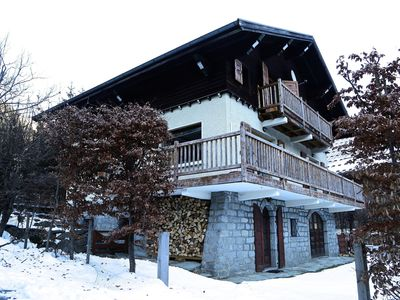 Photo for Well Located and popular Chalet with Stunning and uninterrupted Mont Blanc views