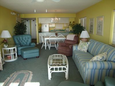 Photo for Oceanfront 2nd Floor Corner Unit with Private Beach Access