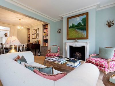 Photo for Traditionally stylish 3 BR home in Hammersmith. Moments walk to tube (Veeve)