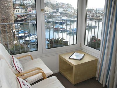 Photo for Harbourside Location - Parking -- Direct Harbour & Sea views - Sleeps four