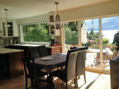 Photo for Lakefront Home in Penticton with Sandy Beach