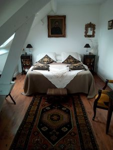 Photo for 2km from the center of Blois in the Valley of the Kings two large guest rooms
