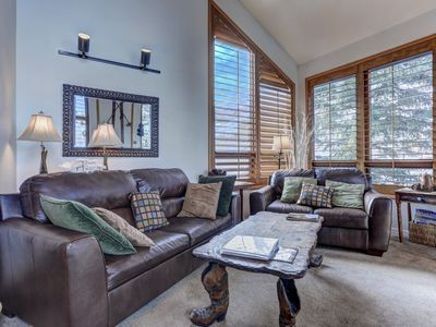 Photo for 4 Bedroom Condo With Two Master Bedrooms and Close to Ski!