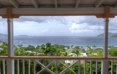 Photo for Exceptional design, spacious covered decks, super views, set in Long Bay Estate