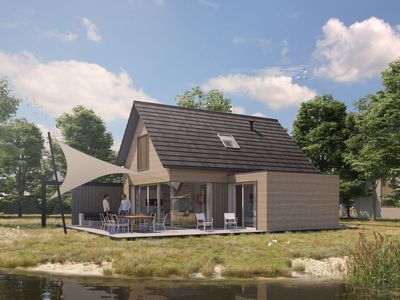 Photo for Luxurious house with sunshower, in a holiday park near the North Sea beach