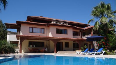 Photo for privite villa with pool and large garden.