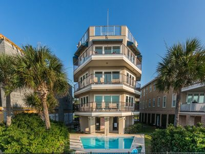 Photo for Spectacular Views from this Oceanfront Home. Features Swimming Pool and Rooftop Deck!