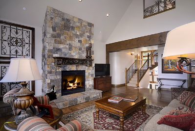 Gas Fireplace in Great Room