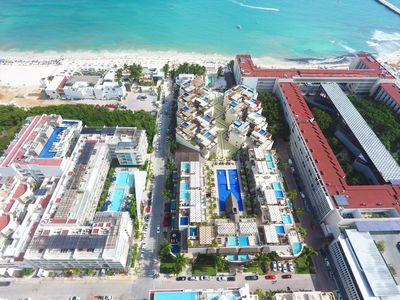 Photo for Gorgeous Condo with big terrace & private pool-Mamitas Beach