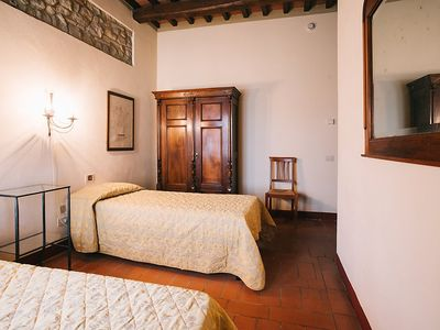 Photo for Apartment in San Gimignano with Parking, Internet, Air conditioning, Pool (117215)