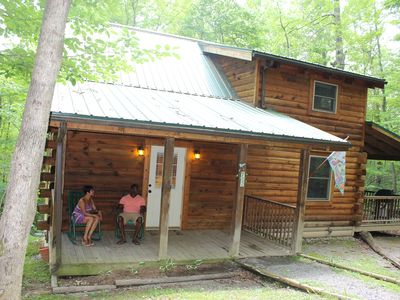 Photo for Deluxe Iron Ring Cabin In The Woods