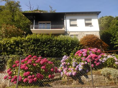 Photo for Apartment, house with lake view. Apartment in lake view house garden, near center.