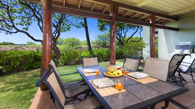 Large covered lanai with private grill - enjoy the catch of the day