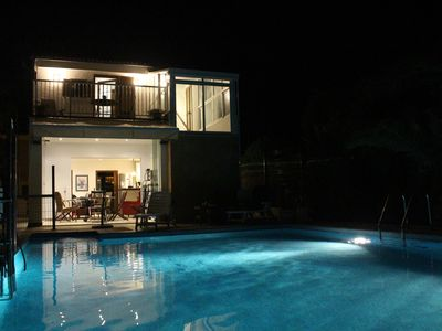Photo for Charming villa with pool near the sea new build and modern comfort and pretty de