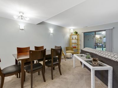 Photo for Townhome, Near Downtown Rehoboth Beach, shops, restaurants, and Jungle Jim water park. Sleeps 8, Includes Sheets & Towels, Includes 1 RB City Parking Hangtag