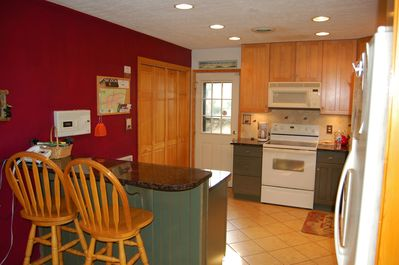 Updated kitchen is equipped with all the amenities of home!