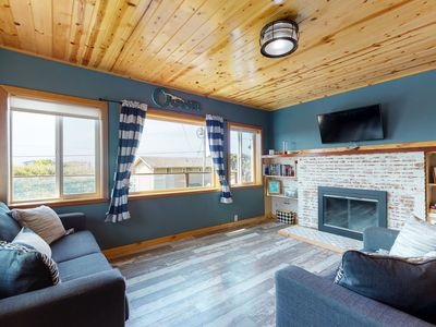 Photo for Dog-friendly home w/ a private hot tub within walking distance of the beach