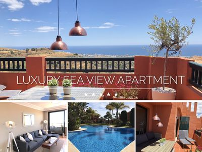 Photo for ⭐LUXURIOUS SEA VIEW APARTMENT - 3 BEDROOMS⭐