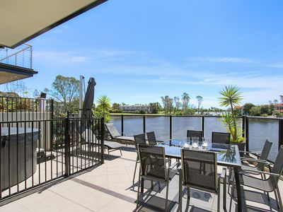 Photo for This modern townhouse is ideal for the water sports enthusiast!