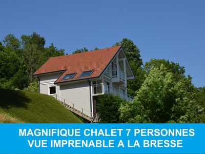Photo for CHALET 7 PEOPLE OUTSTANDING VIEW THE BRESSE GERARDMER