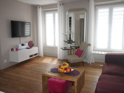 Photo for Charming apartment in the historic center St Jean de Luz