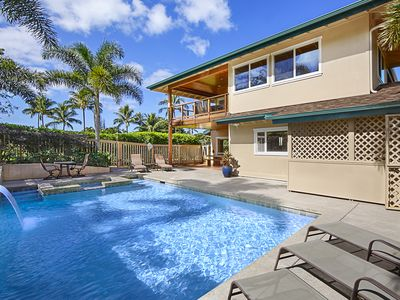 Photo for Hale Ike Moemoea - Great Family Value in Princeville with Pool & Spa!