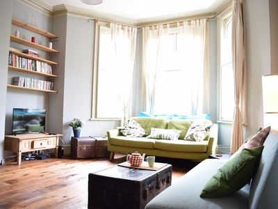 Photo for Lovely 3 Bed Flat in Clapton With Secret Garden - Two Bedroom Apartment, Sleeps 6