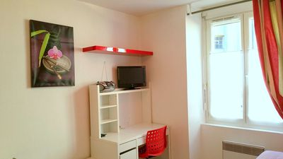Photo for Résidadigne - Ideal downtown quiet furnished studio 104