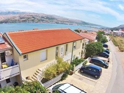 Photo for Apartments Mile, (11090), Pag, island of Pag, Croatia