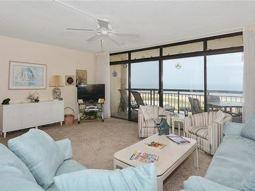 1-bedroom, 1-bath, oceanfront condo with a fully furnished balcony