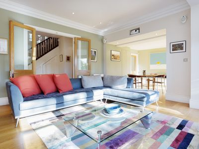 Photo for UP TO 20% OFF - A boutique 3 bed property in leafy Hampstead (Veeve)