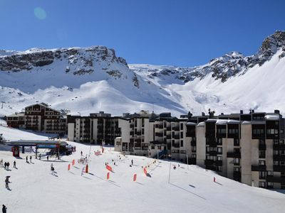 Photo for Studio ski in feet in Tignes - Maeva Individual - Studio mezzanine 4 people Confort