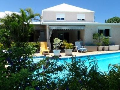 Photo for Etang Salé les Bains Villa terrace, swimming pool, 200 mts from the sea
