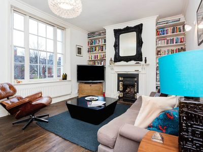 Photo for UP TO 20% OFF - A very stylish 1 bed located in vibrant East London (Veeve)