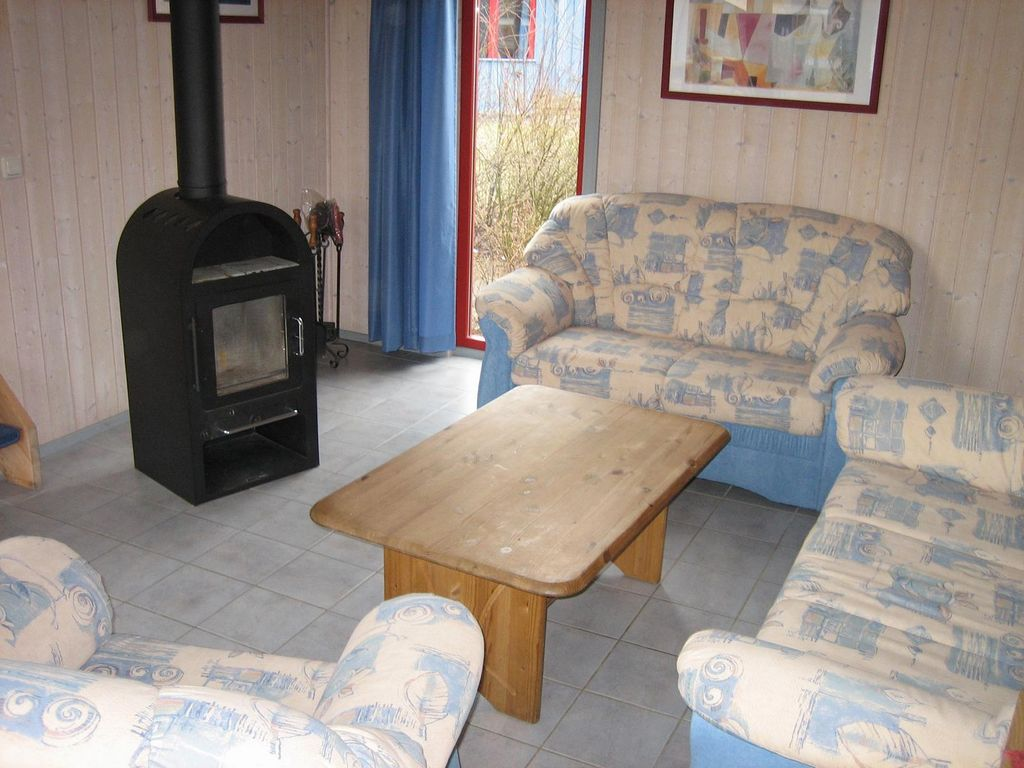 Cottage In A Mirow Garden Terrace Parking Space Sauna Fireplace
