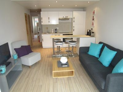 Photo for Modern 3 room apartment close to the Croisette