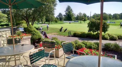 Located at Daytons Number 1 Golf Course. Clubhouse Restaurant.