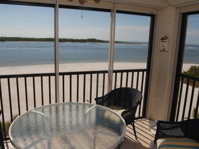 Photo for Beautiful Beachfront Corner Unit Condo on Quiet South End - Breathtaking Views!