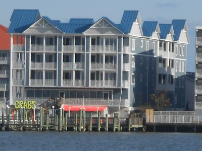 Photo for Emerson Towers 404 - 3 Bedroom Bay Front Condo With Views of Assateague