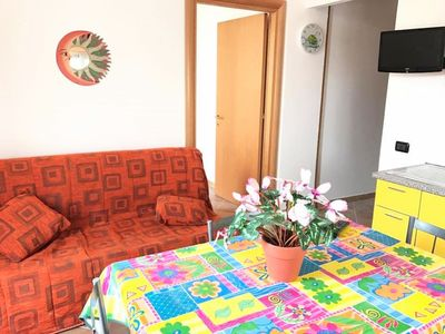 Photo for San seal, two-room apartment with six beds a stone's throw from the sea!