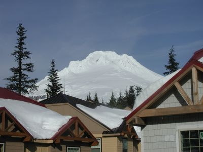 Mt Hood From Condo