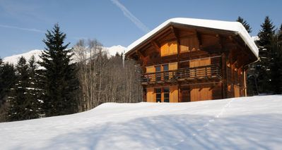 Photo for Chalet Bois in Les Diablerets, 4 bedrooms, 8 people, quiet, beautiful view