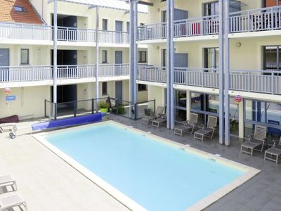 Photo for Biscarrosse-Plage Apartment, Sleeps 8 with Pool and WiFi