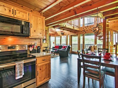 Photo for NEW! Cabin w/ Panoramic Views, Mins to Dollywood!