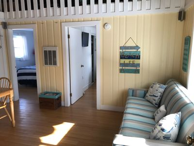 Photo for Newly Renovated 2 Bedroom Cottage Just 100 Steps from Crescent Beach