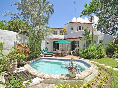 Photo for Merlin Bay Secret Garden - A Stunning 3 Bedroom Villa with Beach Access and Communal Pool