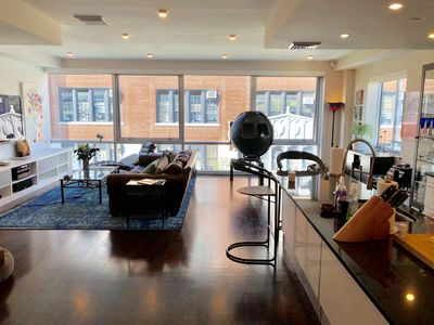 Photo for Beautiful Duplex Apt w. Stunning Views & Outdoor Spaces: 1 Stop from Manhattan