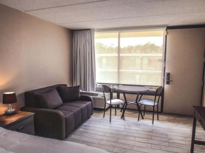 Photo for Banyan Hotel  King+ Sofa bed /2 miles from Disney
