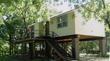 Photo for Single Cabin on Six (6) Private Acres on The Colorado River, Pet Friendly